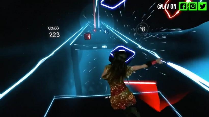 《节奏光剑》宣布这款光剑vr音乐游戏:将在steam平台抢先体验