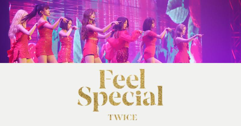 JYP Entertainment近日公开TWICE第8张迷你专辑〈Feel Special〉曲目表